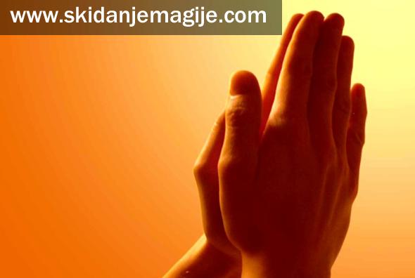 skidanje magije molitvom